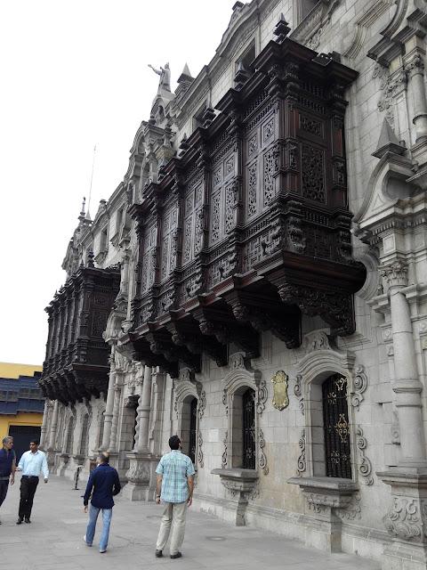 Palacio Arzobispal de Lima, Perú