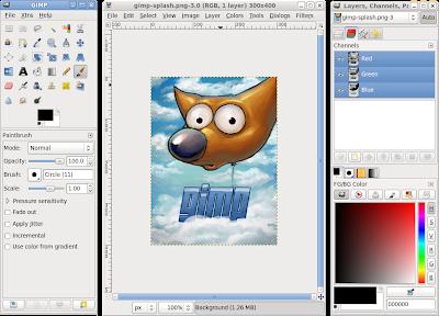 GIMP 2.6.11 Capa