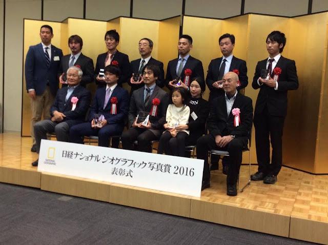 第5回日経ナショナルジオグラフィック写真賞受賞式