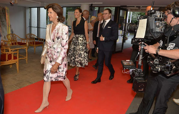 Crown Princess Victoria of Sweden and Prince Daniel of Sweden, King Carl Gustaf of Sweden and Queen Silvia of Sweden