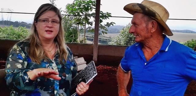 Roncador: Prefeita visita comunidades atingidas pelas chuvas