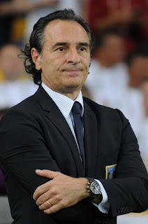 Prandelli guided Italy to the semi-finals of the Euro 2012 tournament