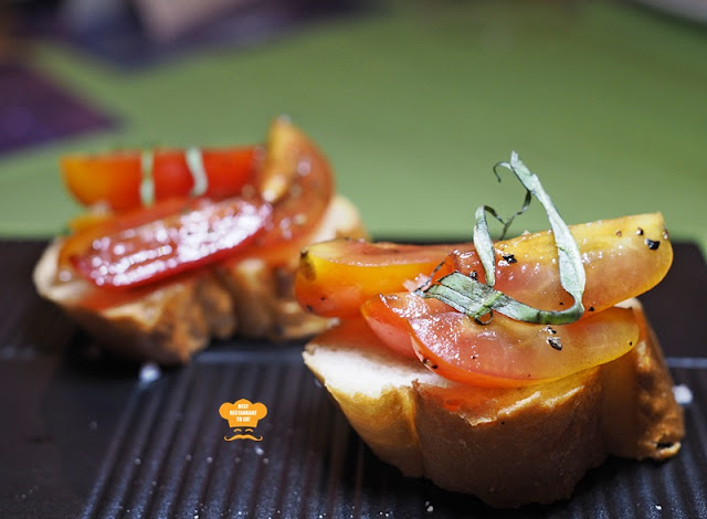 PC Studio Cafe Tomato Bruschetta Pacific West Products