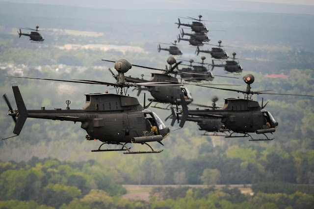 Army attack reconnaissance aircraft award