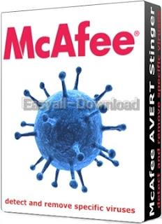 McAfee Stinger 12.1.0.2231 โปรแกรมป้องกันไวรัส สปายแวร์ มัลแวร์