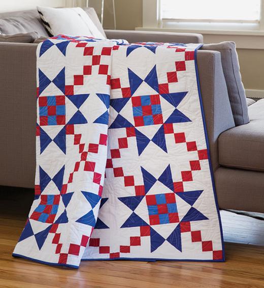 Shining Star Quilt Free Pattern