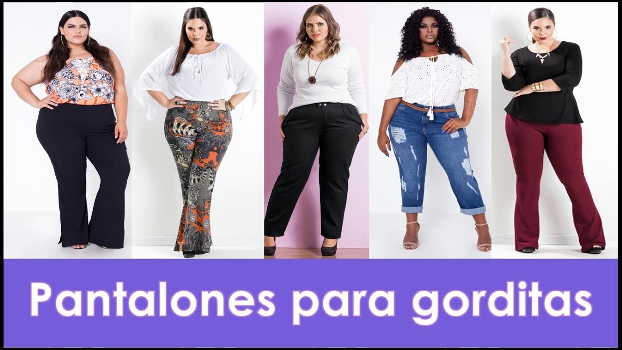 6 Tips de moda para gorditas - Pantalones 16d97c57a304