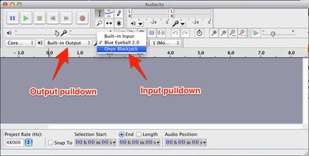 Bowed Instruments: Recording Audio using Audacity