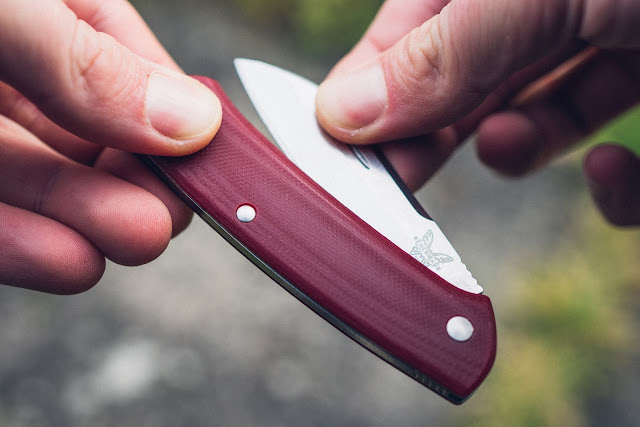 Gear of the Week #GOTW KW 46   Benchmade 319-1 Proper, Red G10  Slipjoint-Messer 02