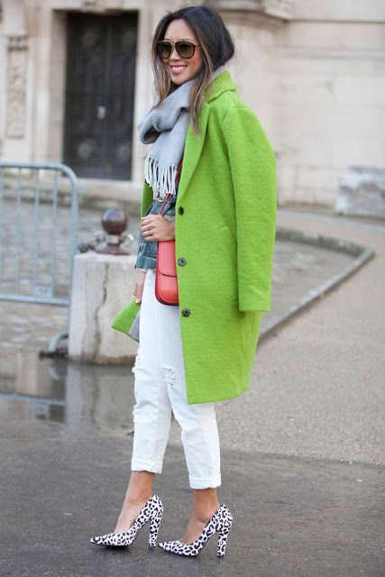 greenery colore pantone 2017 colori tendenza primavera estate 2017 come abbinare il greenery fashion blog italiani greenery street style