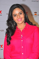 Sree Mukhi in Pink Kurti looks beautiful at Meet and Greet Session at Max Store (6).JPG