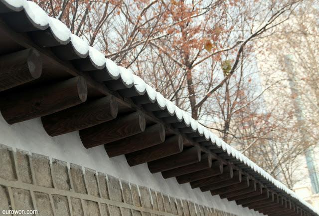 Nieve en Corea