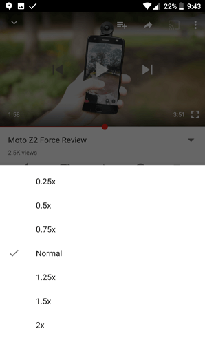YouTube Update Rolling Out Speed Controls For Video Playback