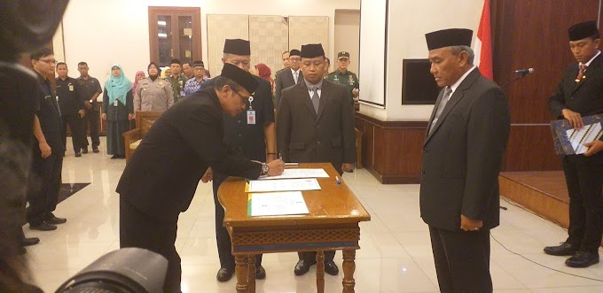 Walikota Lantik Dua Kepala Dinas