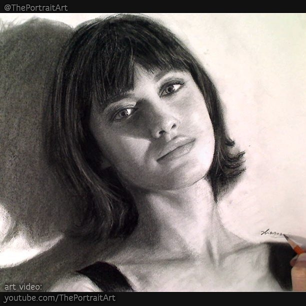 10-Olga-Kurylenko-Xiaonan-Pencil-Charcoal-and-Pastel-Portrait-Drawings-www-designstack-co