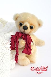 Künstlerteddy, Künstlerbär, Teddybär, Teddy aus Mohair, UnikАвторский медведь тедди, мишка тедди, медвежонок тедди, ручная работа от NatalKa Creations. Artist teddy bear, artist bear, teddy, teddies, ooak, handmade by NatalKa Creations