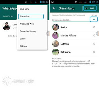 Fitur Broadcast WhatsApp 1