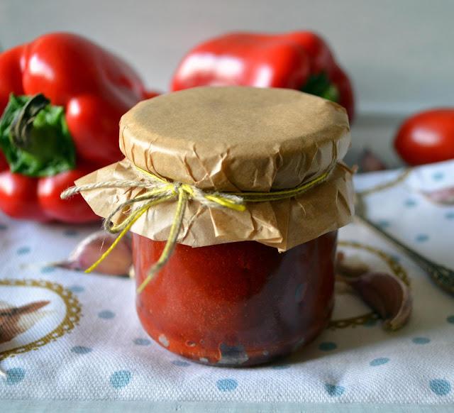 pasta+paprykowa Pasta paprykowa