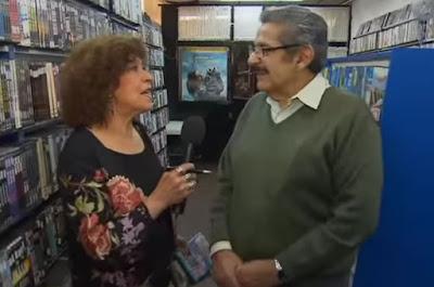 Cristina Pacheco entrevista a Videoclub Amores.