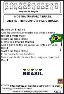 Música Itaú seleção brasileira copa 2018