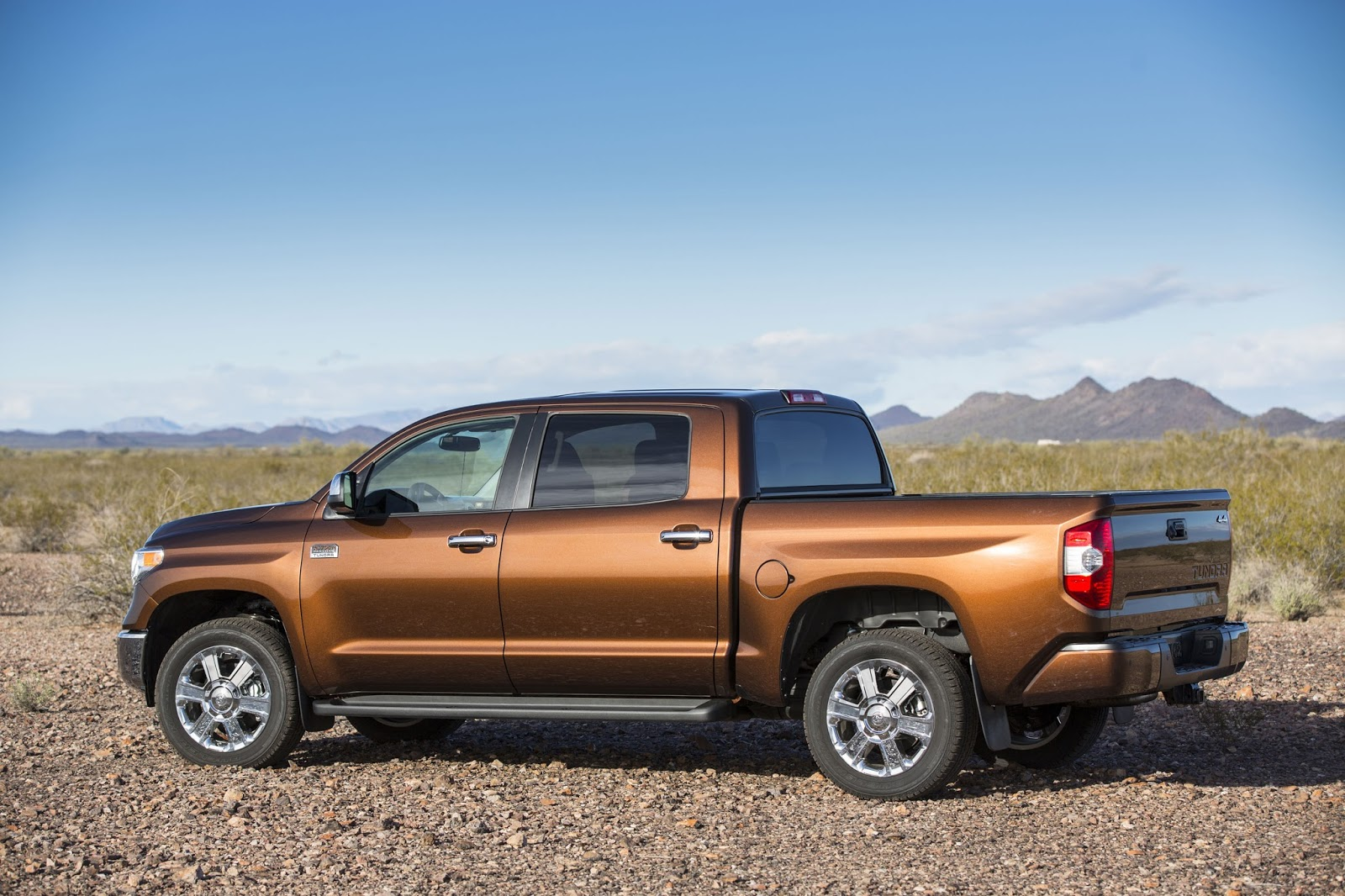 Side View Of 2016 Toyota Tundra 1794 Crewmax