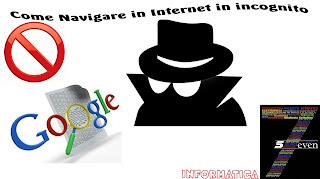Come fare per come si fa sevennolimits come navigare in internet in incognito privato - Nuova finestra di navigazione in incognito ...
