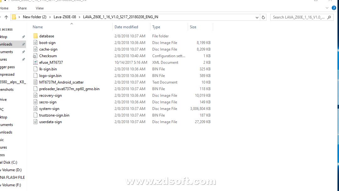 LAVA Z60E FLASH FILE {{Frp Remove Lcd Fix & Dead Recovery}}