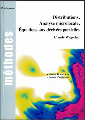 Télécharger Livre Gratuit Distributions, analyse microlocale, équations aux dérivées partielles pdf
