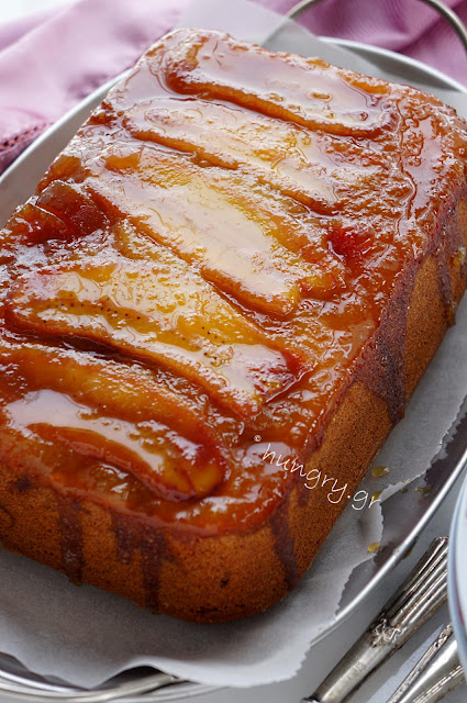 Honey Banana Upside-Down Cake