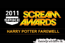 Join Daniel Radcliffe at this Friday's  Spike Scream Awards Harry Potter Tribute