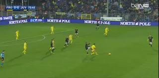اهداف  مباراة يوفنتوس و  فروسينوني فى الدورى الايطالى frosinone-calcio 0 - 2juventus
