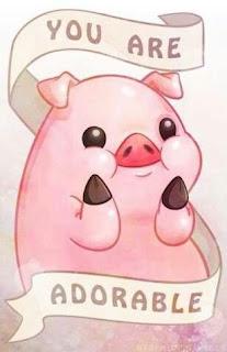 Imágenes Kawaii Tiernas Hermosas Amor animales puerco cerdo adorable Fondos celular