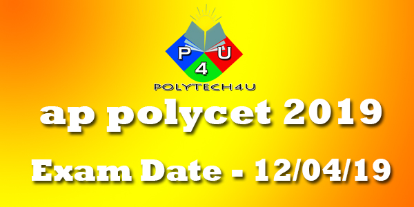 ap polycet exam notification 2019