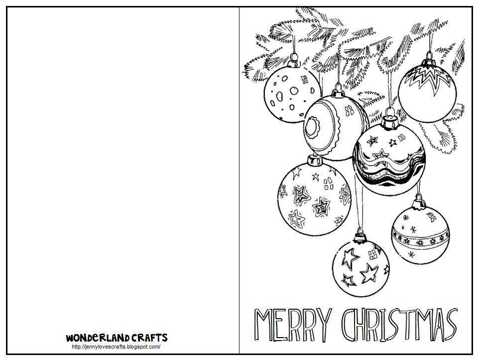 Wonderland Crafts: Christmas Greeting Cards!