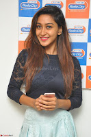 Shravya in skirt and tight top at Vana Villu Movie First Song launch at radio city 91.1 FM ~  Exclusive 168.JPG