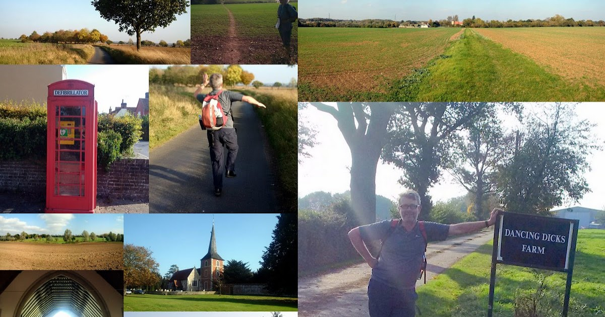 John's Labour blog: While in Dancing Dick's Lane - White Notley to Witham  walk