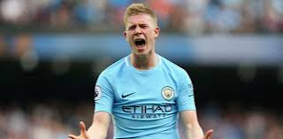 Manchester City attacking midfielder Kelvin De Bruyne out for some months due to knee injury