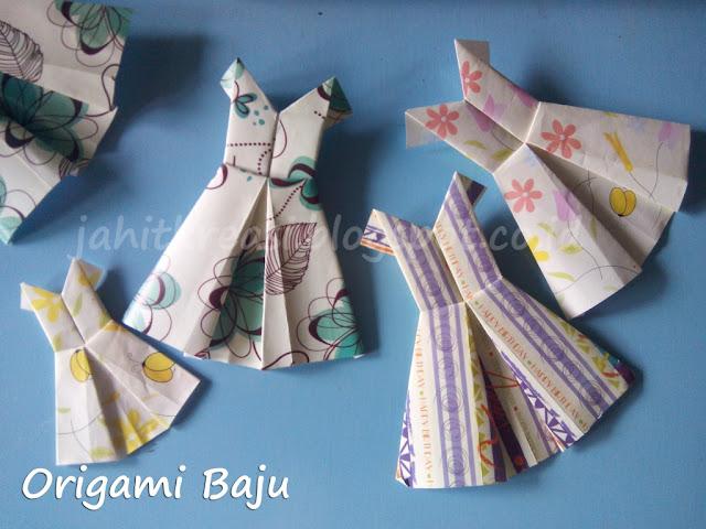Origami Baju (Origami Dress)