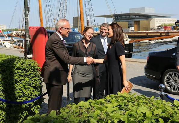 Crown Princess Mary of Denmark attended the official opening of the European Conference IDAHO Forum