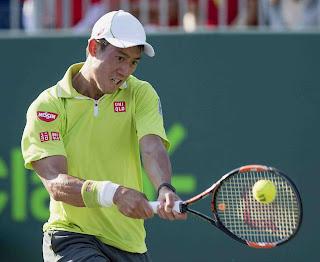Kei Nishikori tenis de resultados