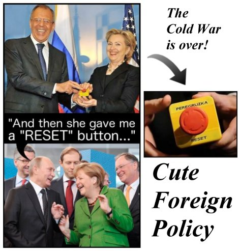 Hillary Clinton gives Vladimir Putin a reset button