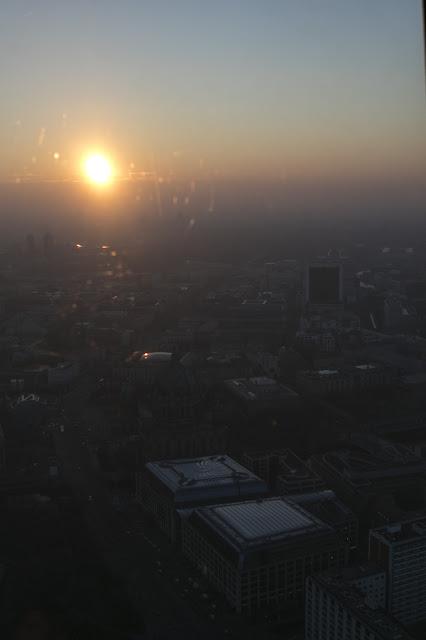 Panorama dalla Torre della Tv-Fernehturm-Berlino