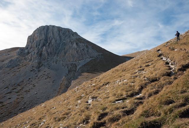 Vallone di Vradda, monte Camicia