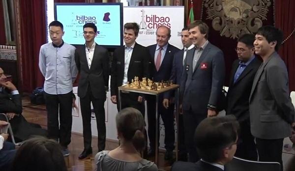 La Finale des Maîtres de Bilbao - Photo capture vidéo site officiel