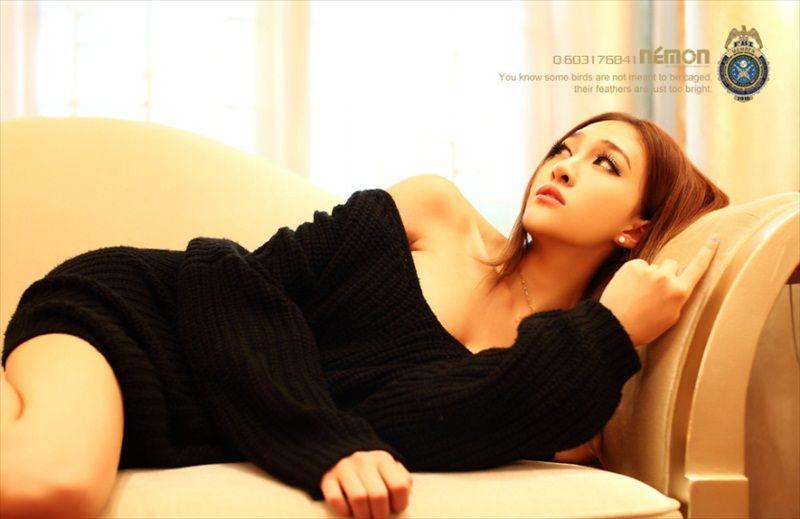 Yuan Ting Ting China Lingerie Model