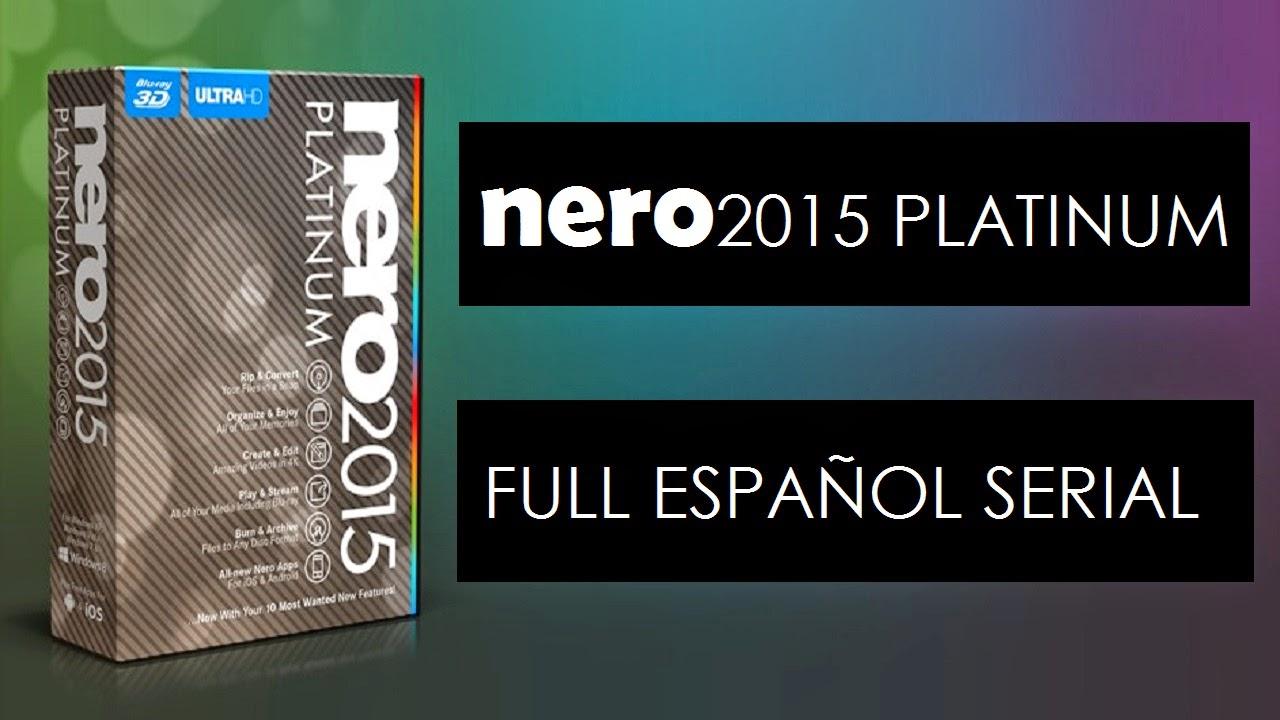 Nero 2015 Platinum Serial Key