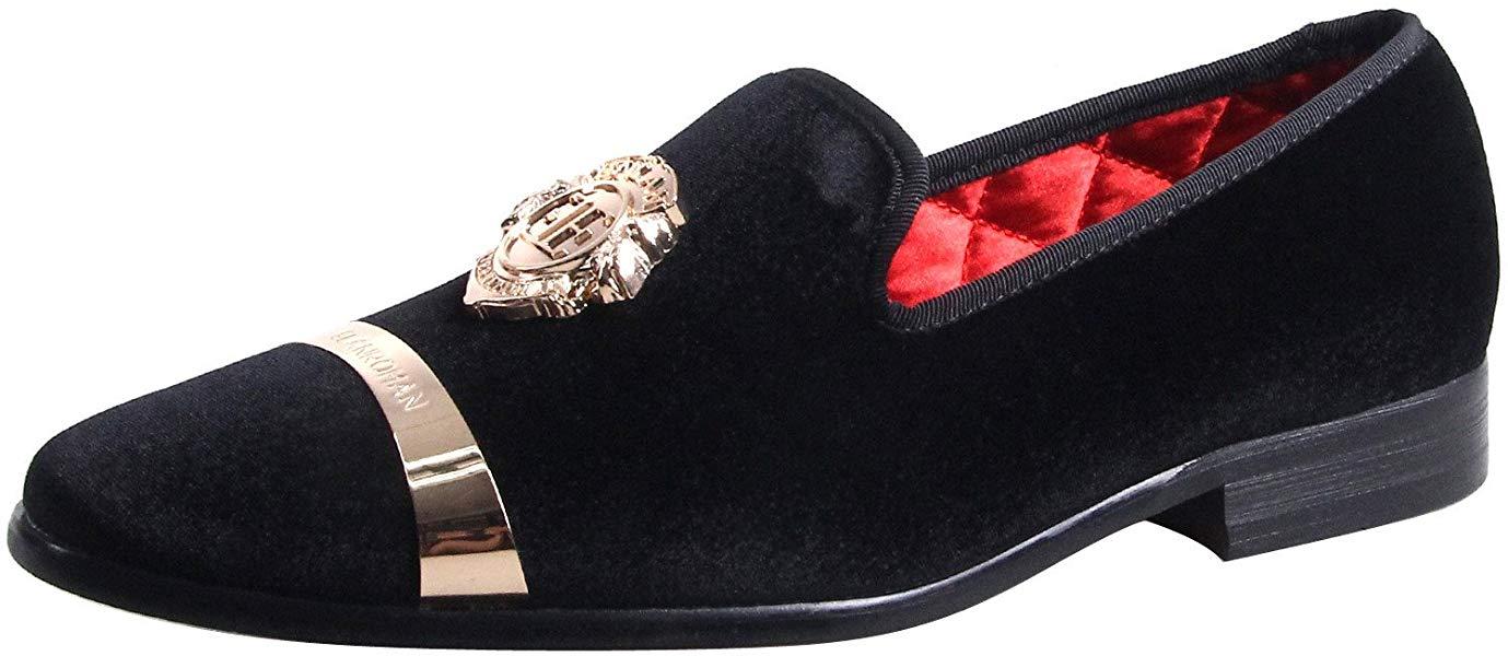 7e18e62577 ElanRoman Best Seller Mens Male Prom Grooms Formal Loafer Dressy Shoes