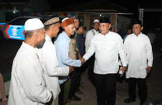 Hadiri Peringatan Maulid Nabi Di Desa Way Galih, Nanang Janji Bangun Jalan