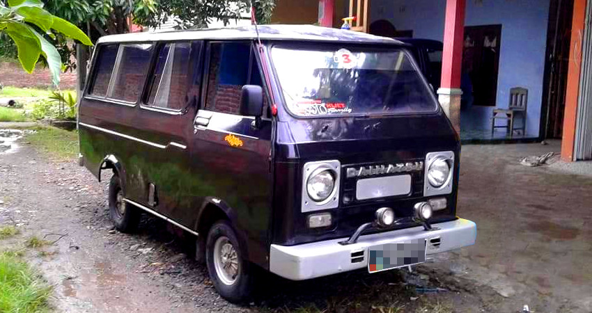 Daihatsu Hijet 55 & Hijet 55 Wide S60 | Mobil Motor Lama