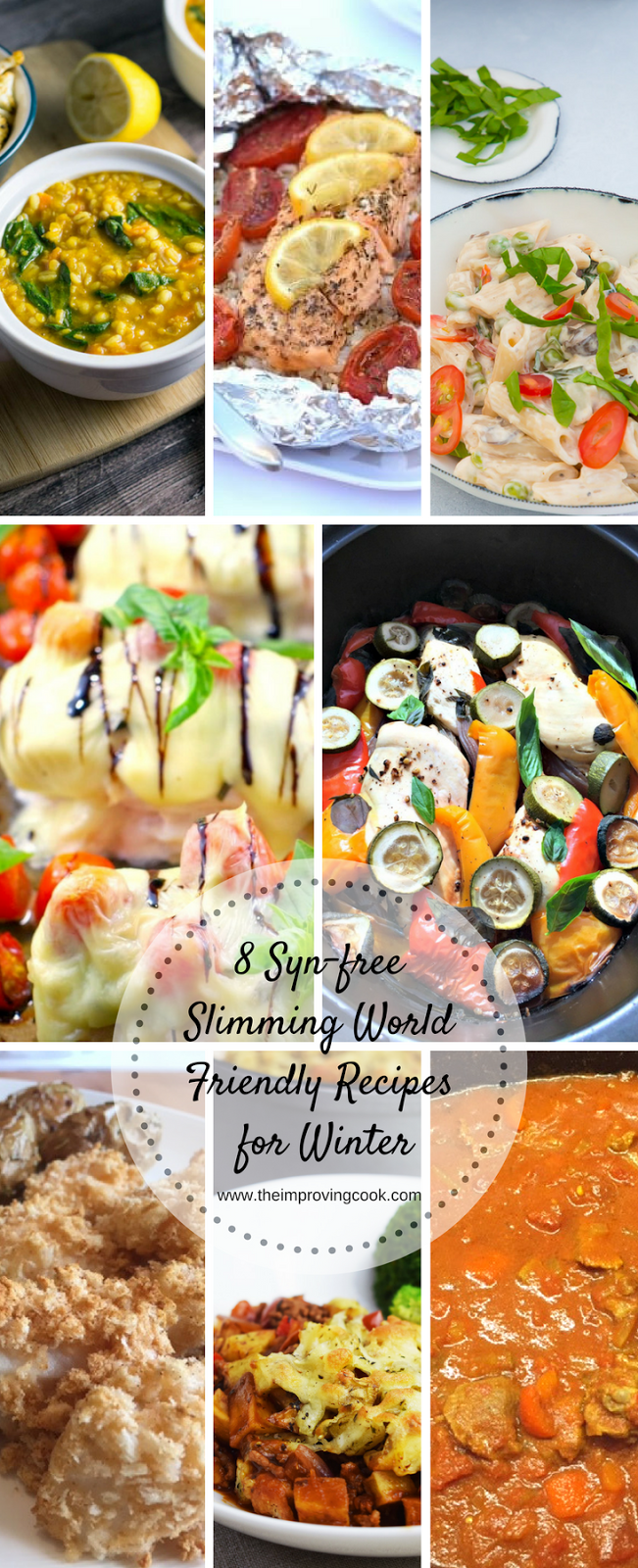 Eight Syn-Free Slimming World Friendly Meals for Winter